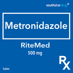 Rx: RiteMEd Metronidazole 500 mg Tablet