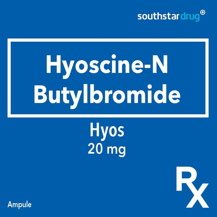 Hyos Ampule 20 mg - Southstar Drug