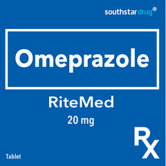 Rx: RiteMed Omeprazole 20 mg Tablet