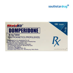 RiteMed Domperidone 10 mg Tablet - 20s