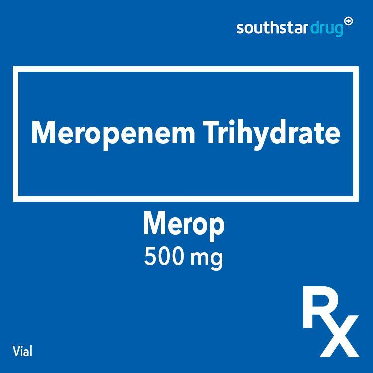 Rx: Merop 500 mg Vial - Southstar Drug