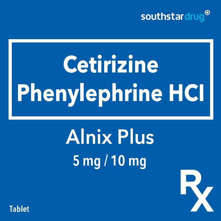 Rx: Alnix Plus 5 mg / 10 mg Tablet