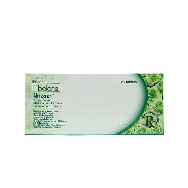 Rx: Amena 2.5 mg Tablet