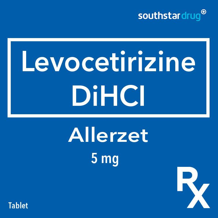 Rx: Allerzet 5 mg Tablet