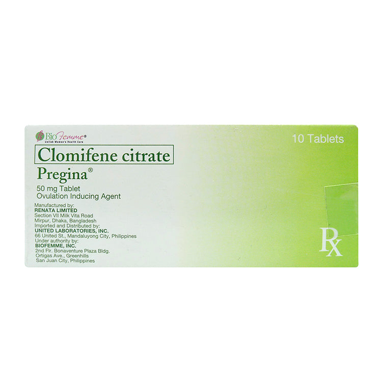 Rx: Pregina 50 mg Tablet