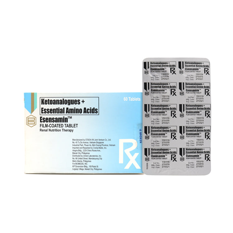 Rx: Esensamin  600 mg Tablet