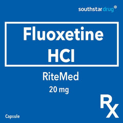 Rx: RiteMed Fluoxetine HCI 20 mg Capsule