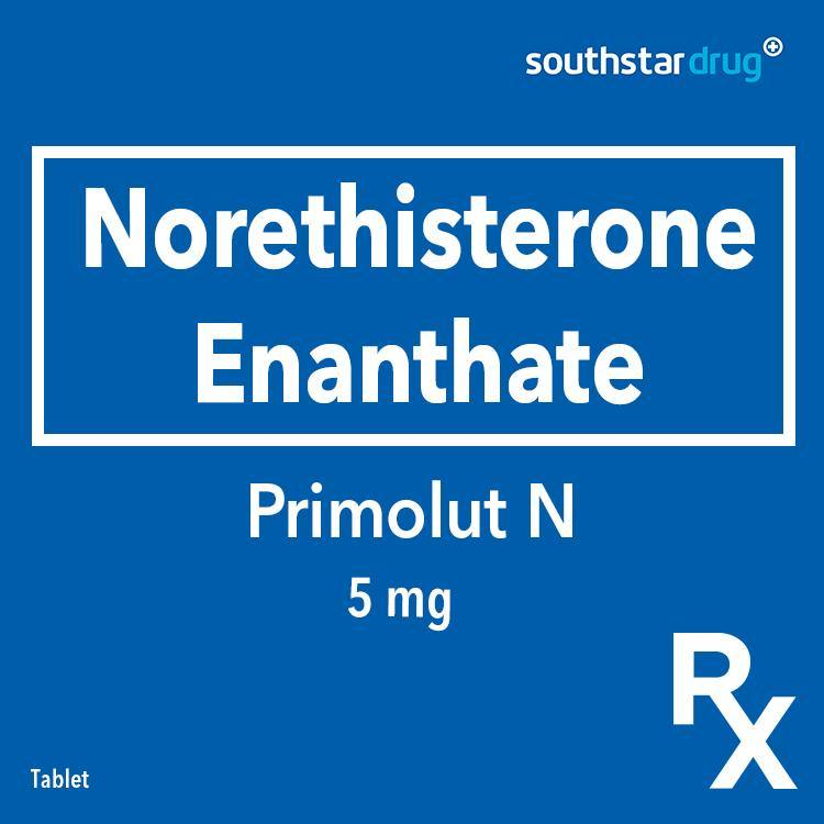 Rx: Primolut - N 5 mg Tablet