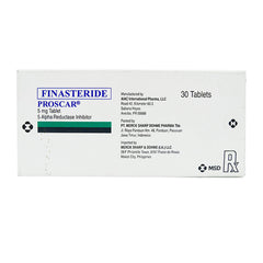 Rx: Proscar 5 mg Tablet