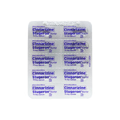 Rx: Stugeron Forte 75 mg Tablet