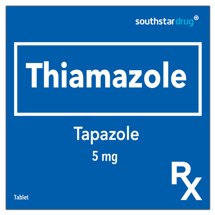 Rx: Tapazole 5 mg Tablet