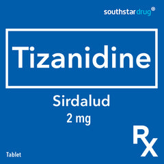 Rx: Sirdalud 2 mg Tablet