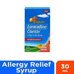 Claritin 5 mg / 5 ml Syrup 30 ml