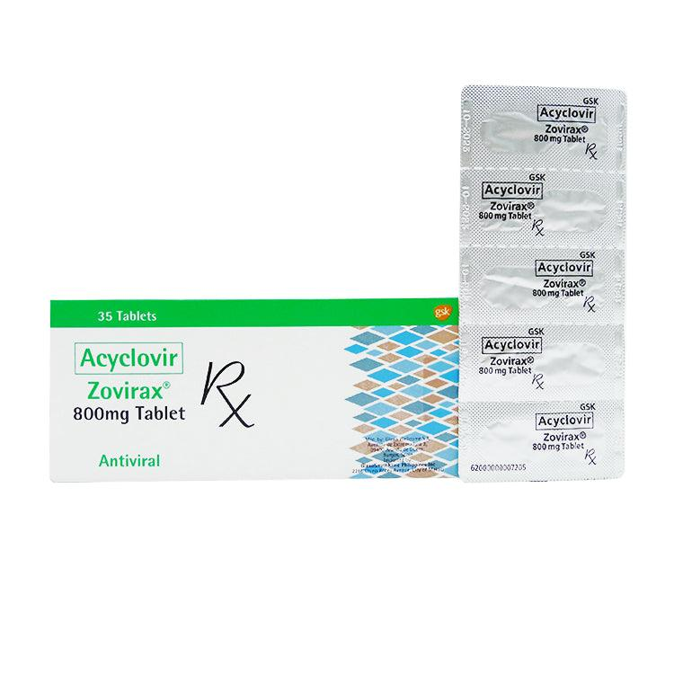 Rx: Zovirax 800 mg Tablet