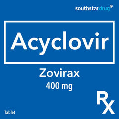 Rx: Zovirax 400 mg Tablet