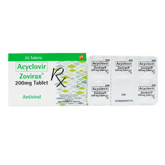 Rx: Zovirax 200 mg Tablet