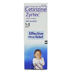Zyrtec 10 mg / ml 10 ml Oral Drops