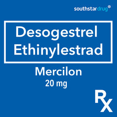 Rx: Mercilon 20 mg Tablet
