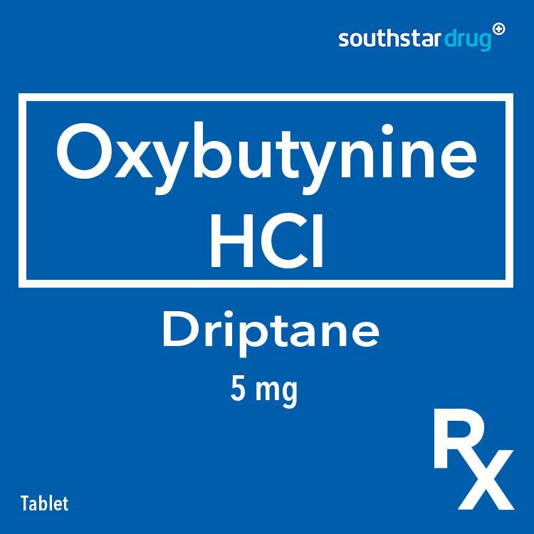 Rx: Driptane 5 mg Tablet