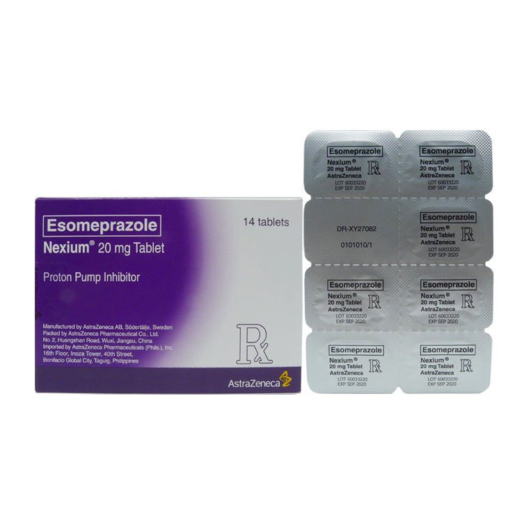 Rx: Nexium 20 mg Tablet