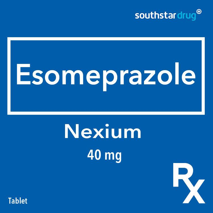 Rx: Nexium 40 mg Tablet