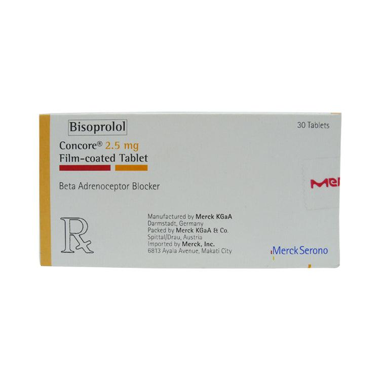 Rx: Concore 2.5 mg Tablet