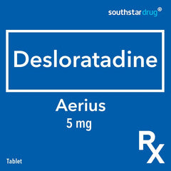 Rx: Aerius 5 mg Tablet