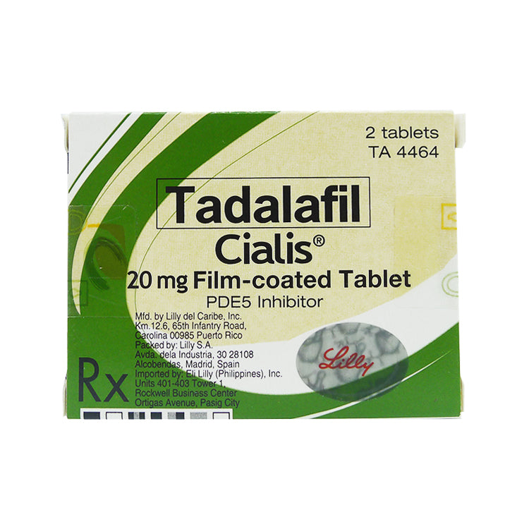 Rx: Cialis 20 mg Tablet