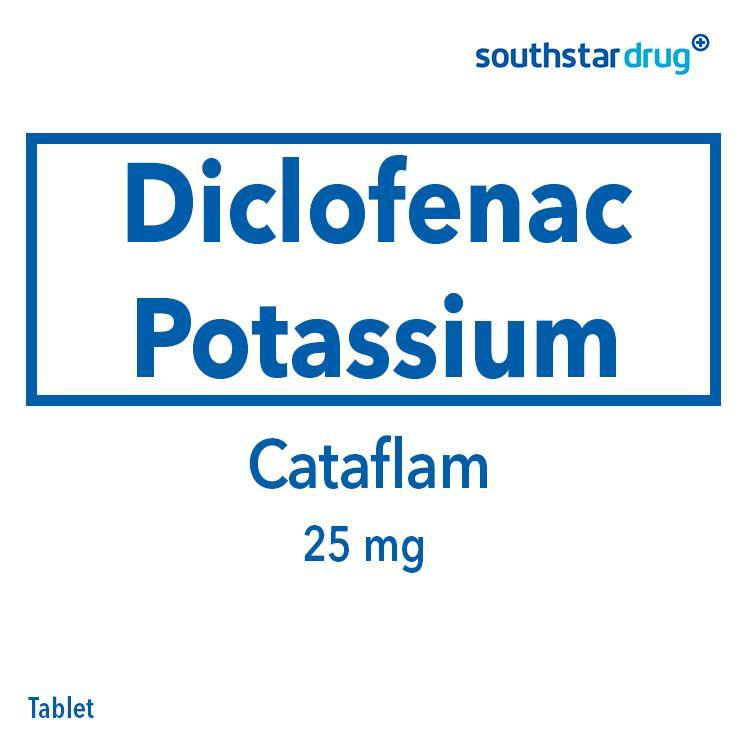 Cataflam 25 mg Tablet - 20s