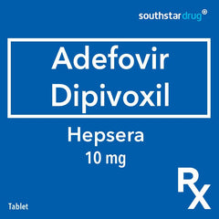 Rx: Hepsera 10 mg Tablet
