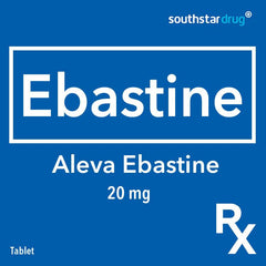 Rx: Aleva Ebastine 20 mg Tablet