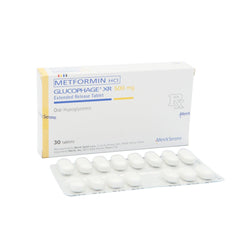 Rx: Glucophage XR 500 mg Tablet