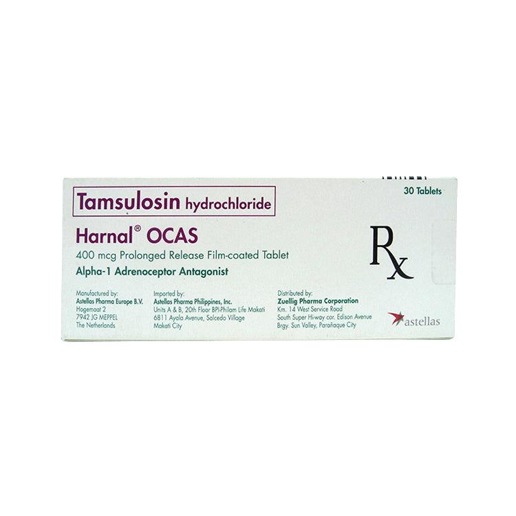 Rx: Harnal Ocas 400 mcg Tablet