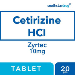 Zyrtec 10 mg Tablet - 20s