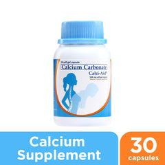 Calci - Aid Calcium Supplement Soft Gel Capsules - 30s