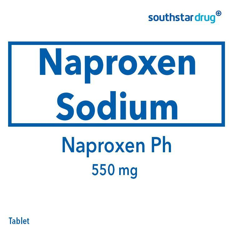Pharex Naproxen 550 mg Tablet - 20s
