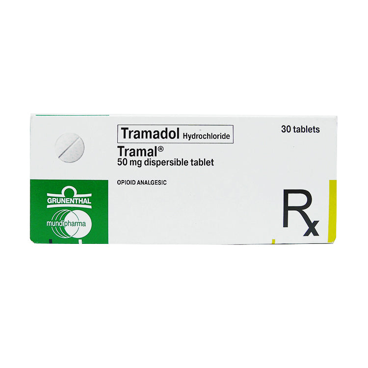 Rx: Tramal 50 mg Dispersible Tablet