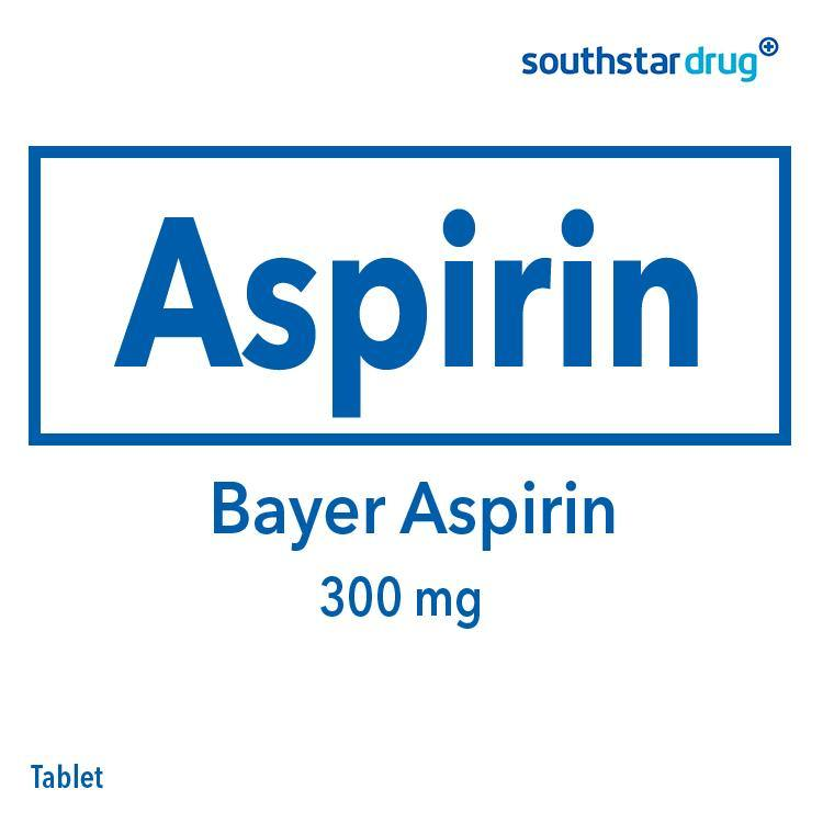 Bayer Aspirin 300 mg Tablet - 20s