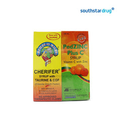 Cherifer Plus PedZinc 2 X 120 ml Syrup