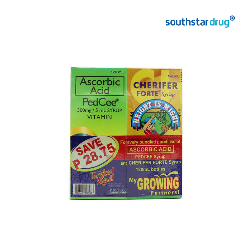 Cherifer Plus Ped - cee 2 x 120 ml Syrup