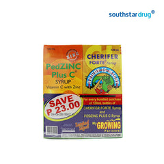 Cherifer Forte Plus PedZinc 2 x 120 ml Syrup