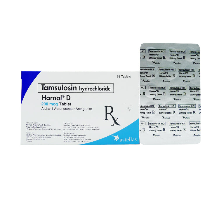 Rx: Harnal D 200 mcg Tablet
