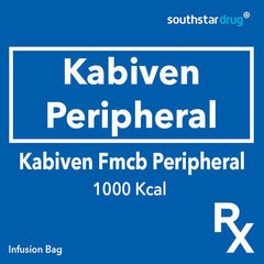 Rx: Kabiven Fmcb Peripheral 1000 Kcal Infusion Bag - Southstar Drug