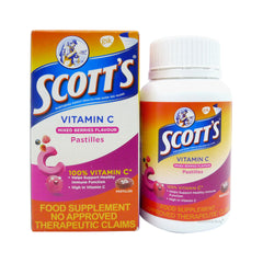 Scotts Vitamin - C Mixed Berries 50 Pastilles