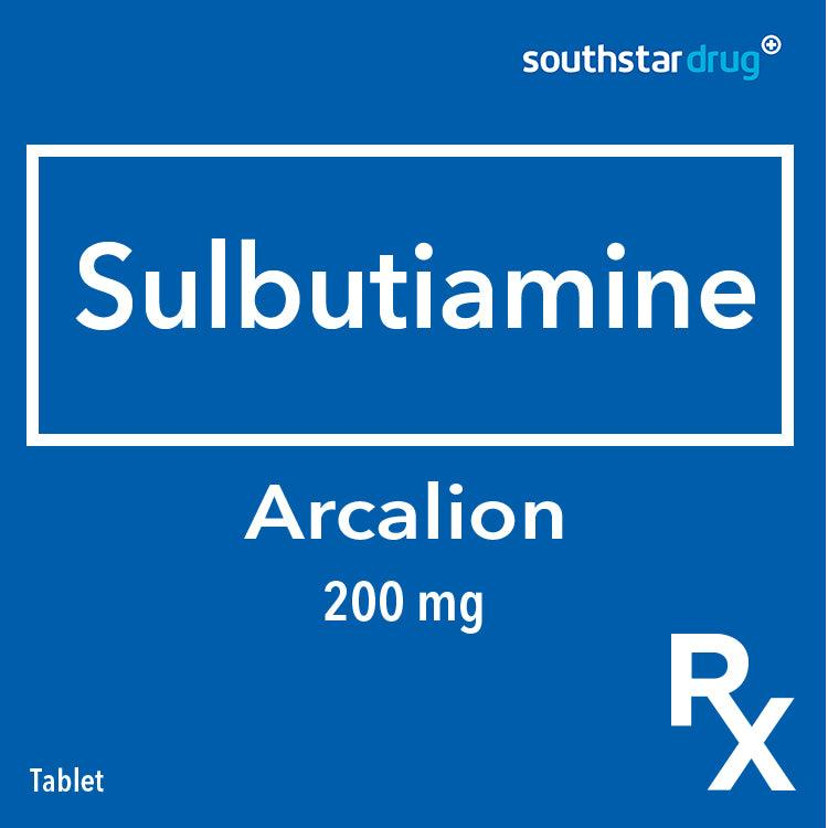 Rx: Arcalion 200 mg Tablet