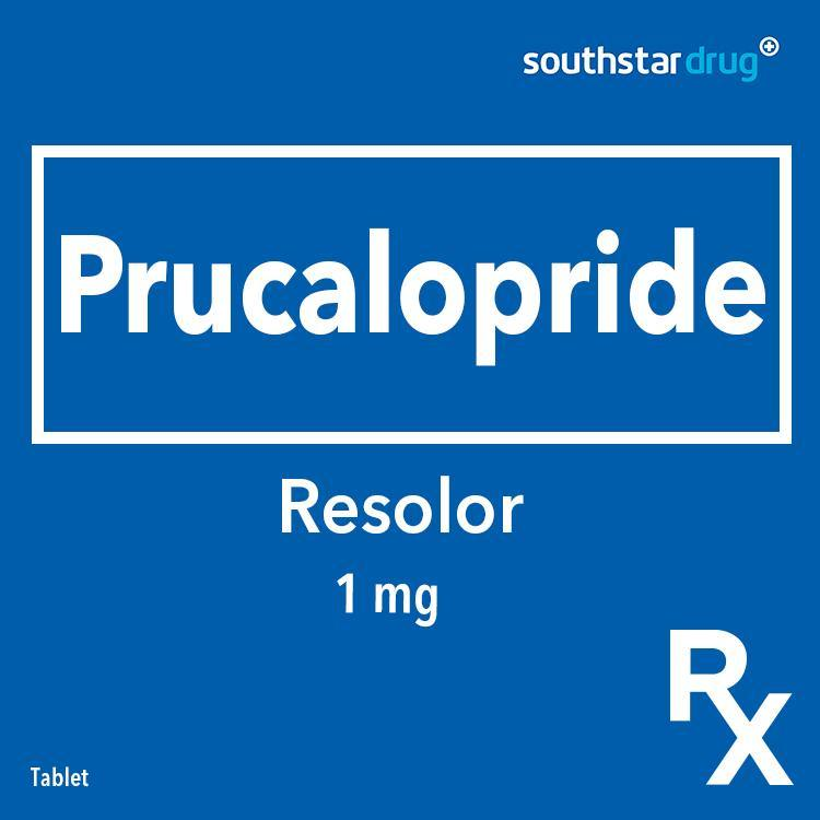 Rx: Resolor 1 mg Tablet