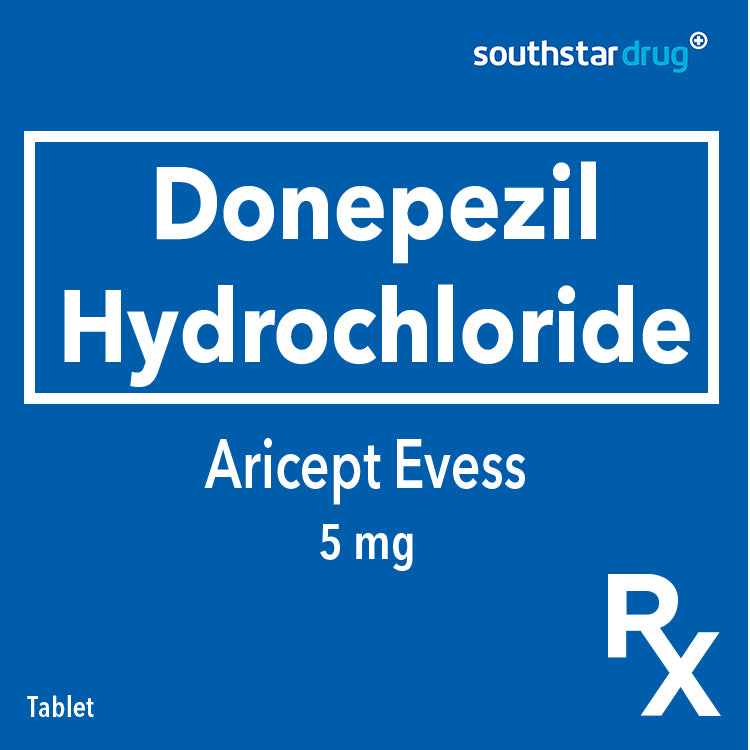 Rx: Aricept Evess 5 mg Tablet