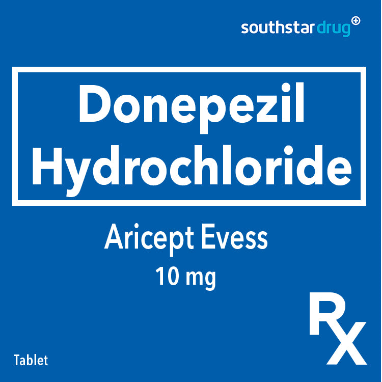 Rx: Aricept Evess 10 mg Tablet