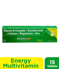 Berocca Performance Citrus Tablet - 15s