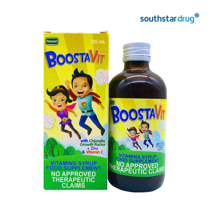 Boostavit 120 ml Syrup